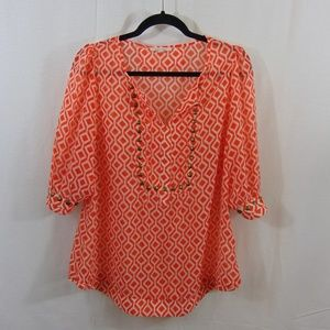41 Hawthorn Patterned Studded Blouse